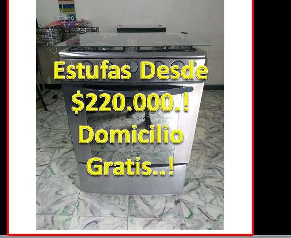 Estufas Con Horno CALI..Excelente Estado Garantia Domicilio Gratis Cali Calidad Superior! Desde 220.000 wpp 3167287103