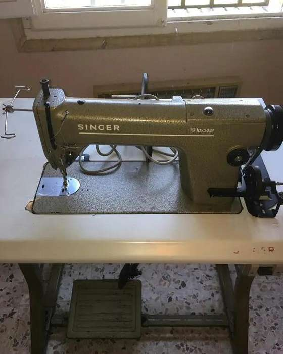 Maquina de coser plana SINGER