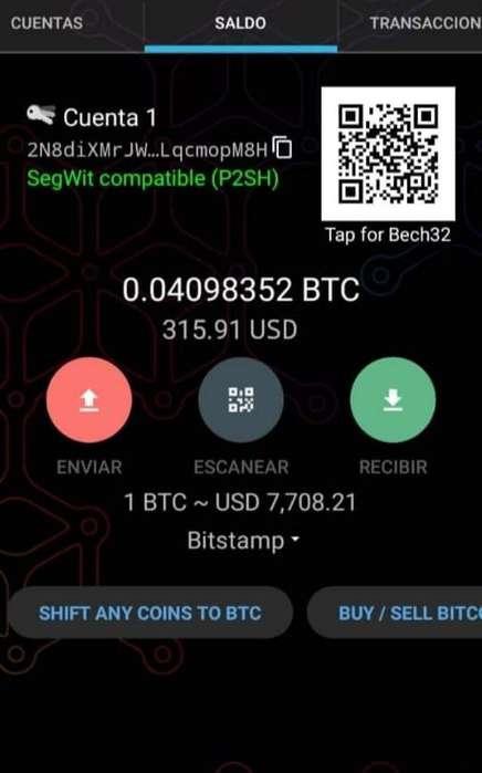 Fraccion de Bitcoin