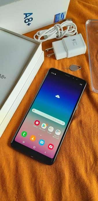 Samsung A8 Plus 64gb Vendo O Cambio