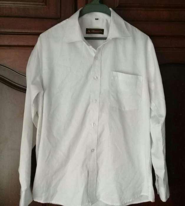 Camisa Casual Hombre M Como Nueva