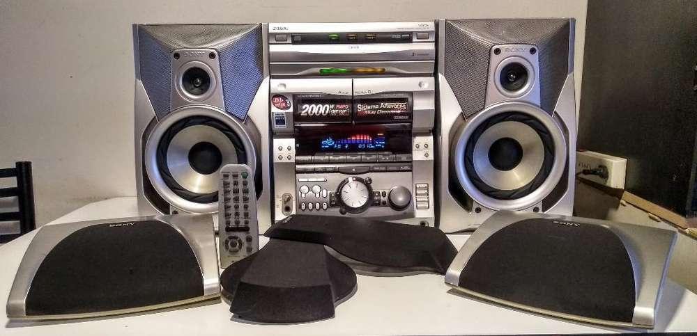 Minicomponente Sony Grx8 260w Reales