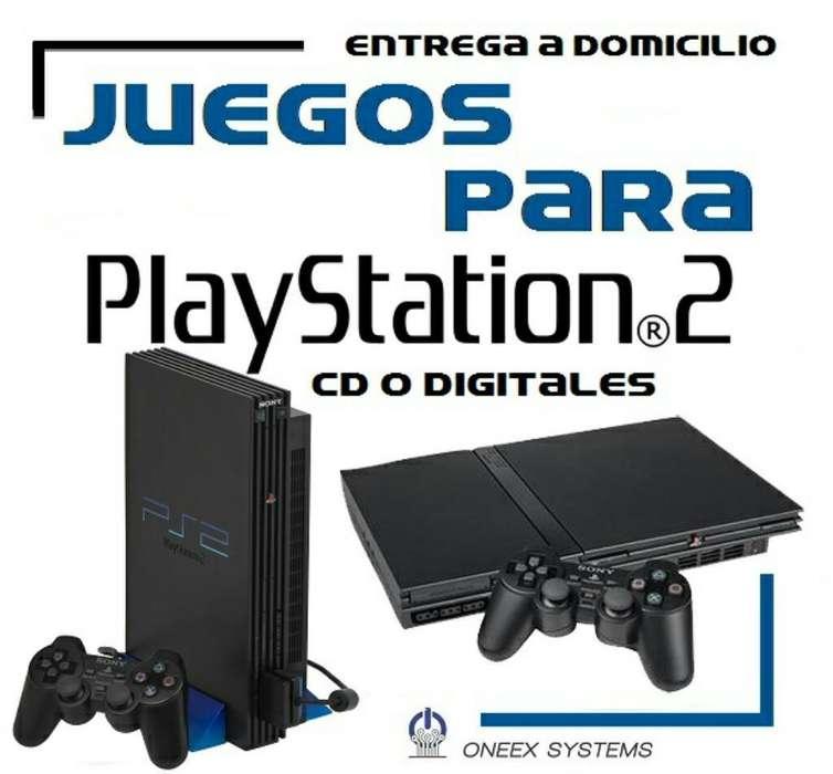 Juegos de Playstation 2 a Domicilio Ps2