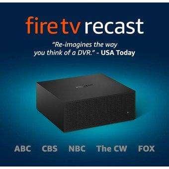 Fire TV Recast, DVR por aire, 500 GB, 75 horas