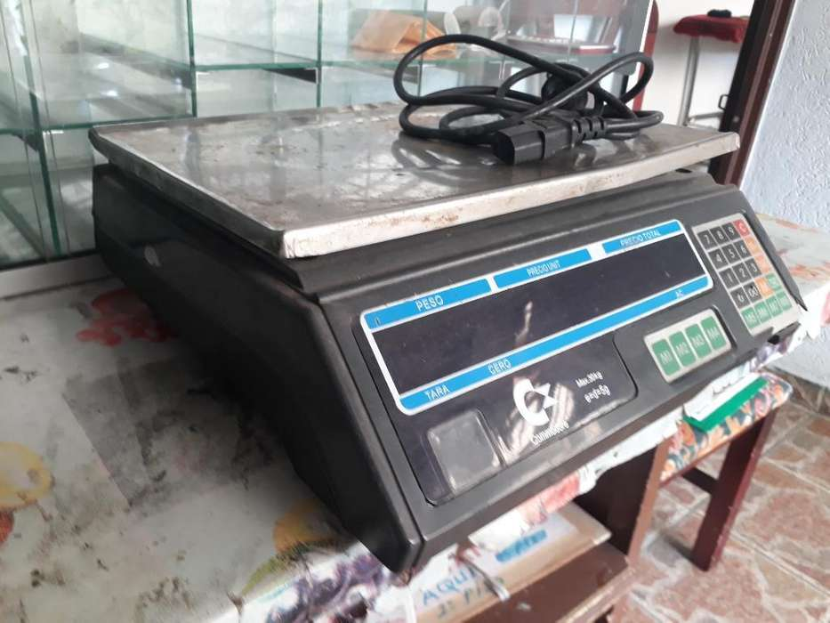 Bascula Digital Commodore 30kls