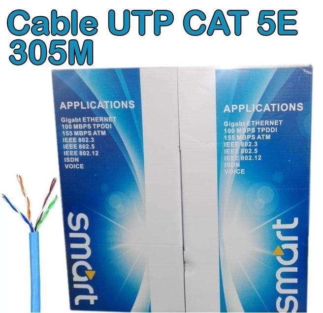 Cable UTP 305M CAT 5E oferta de liquidación!! 35