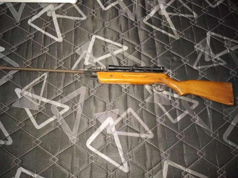Rifle Aire Comprimido 5.5 Com Mira