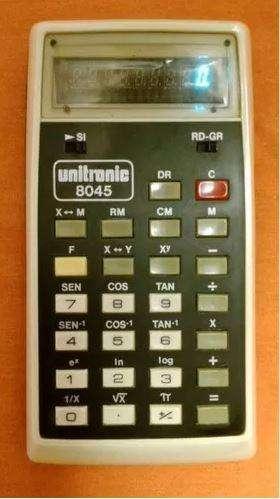 Calculadora Retro Unitronic 8045