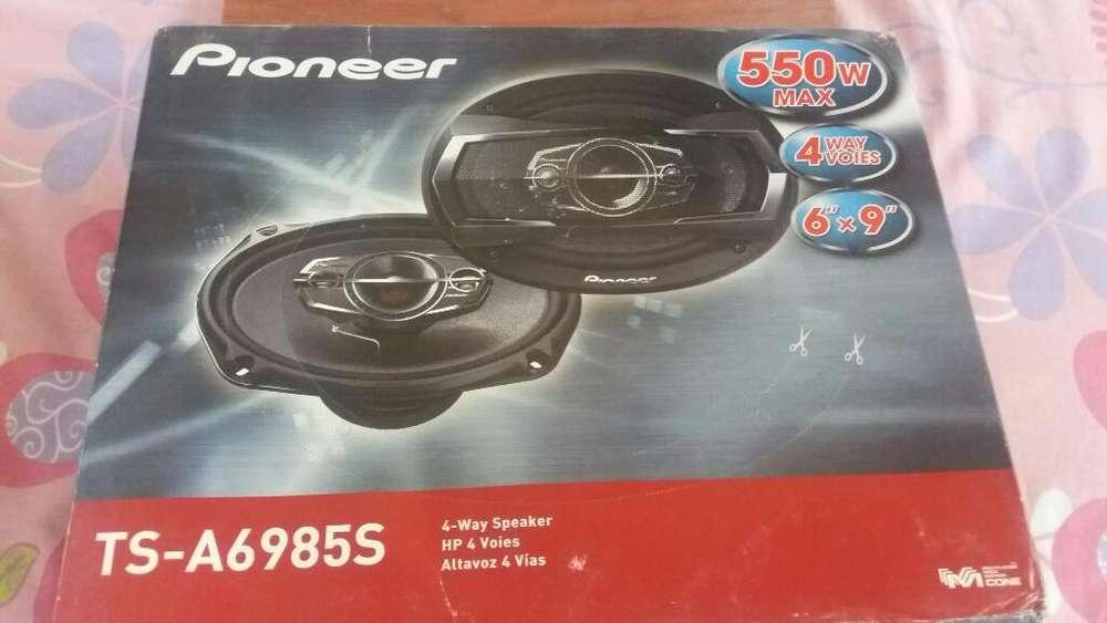 Ovalados Pioneer 550w
