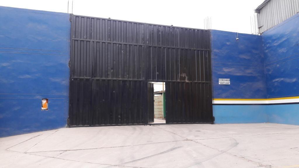 Venta de terreno Semi Industrial 1000 m2 Pachacutec