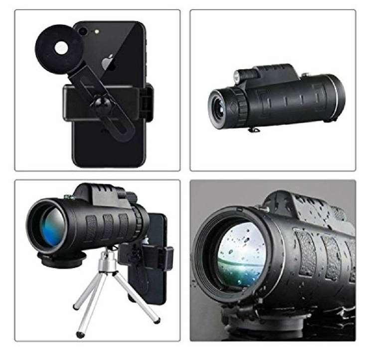 Monocular telescopio para celular 12x50 Alta Calidad Mod 2019
