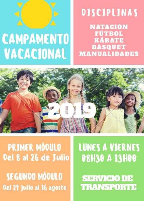 Campamento Vacacional en Carapungo