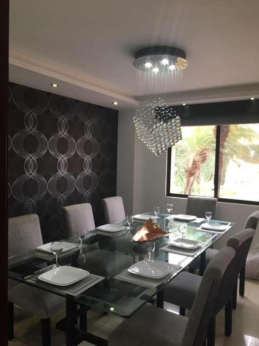 alquilo hermosa casa amueblada en Ciudad Celeste en la urbanización la Delfina