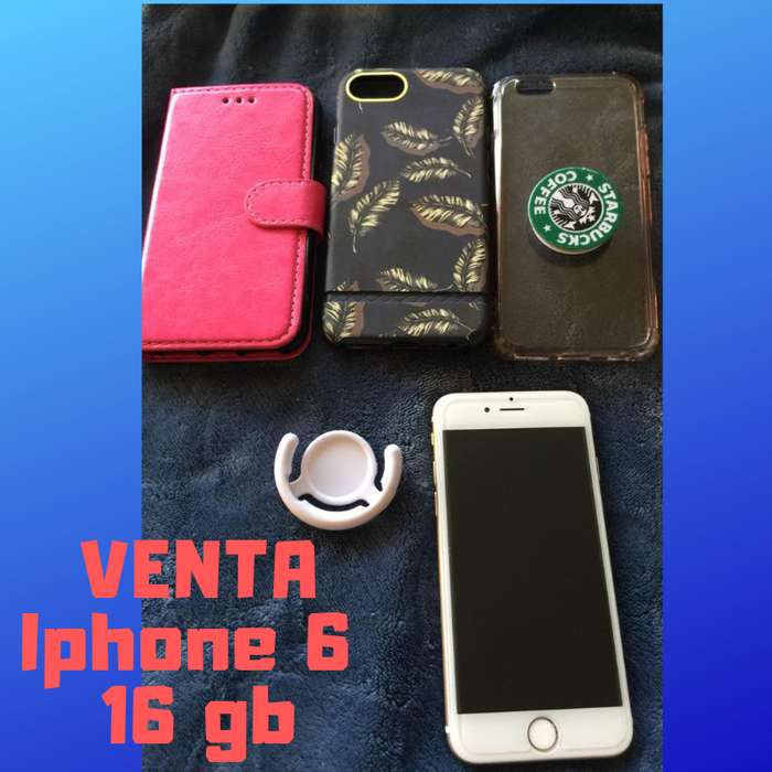 IPhone 6 de 16gb a la VENTA!!