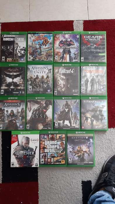 Juegos de Xbox One a Domicilio