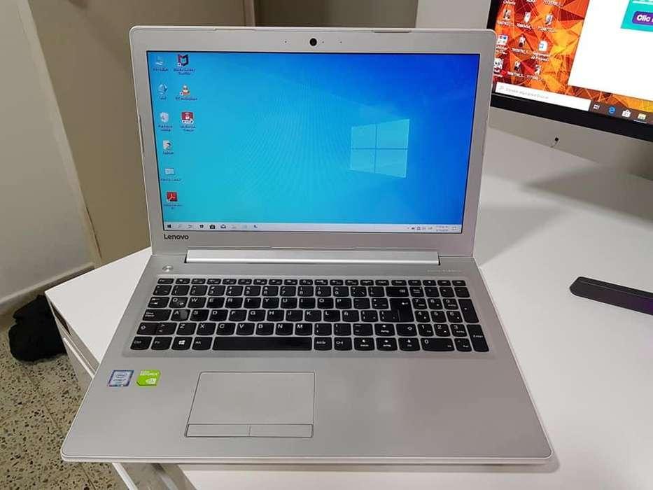 PORTATIL LENOVO i7 6ta To 3.10GHZ, 8GB RAM DDR4, 1TB DISCO, NVIDIA 940MX 2GB DEDICADO DDR3