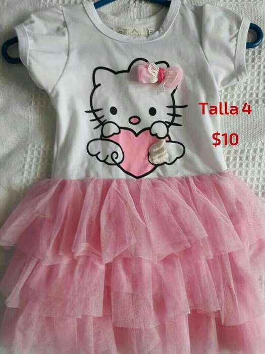 Vestido Hello Kitty Talla4