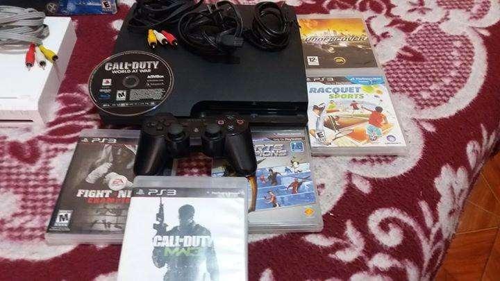 Playstation 3 slim incluye una tienda de juegos con 4000 juegos de ps3 gratis perfecto estado 10/10