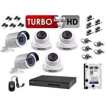 Cámaras Seguridad HIKVISION Kit De 02 cámaras 1080p