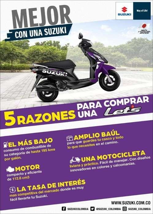 Suzuki Lets Mod 2020