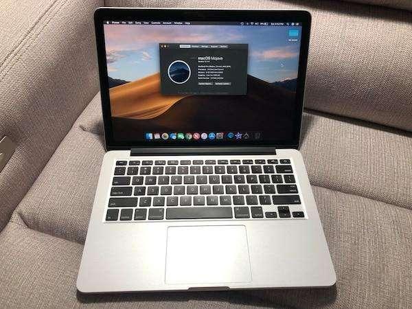 MacBook Pro Retina Core i 5 Año 2015