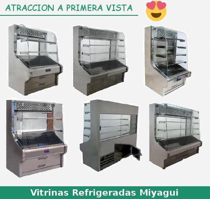 Vitrinas exhibidoras refrigeradas Miyagui NUEVAS