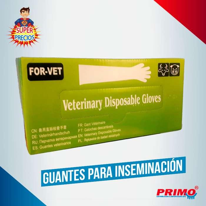 Guantes para inseminación ideal para ganaderia