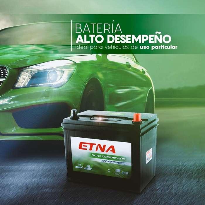 Batería Etna Alto Desempeño -Libre Mantenimiento