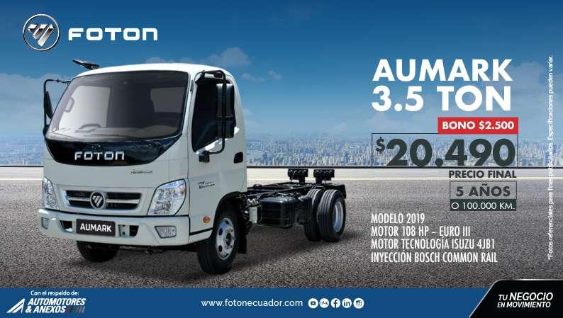 CAMION FOTON AUMARK 3.5 TN GYE