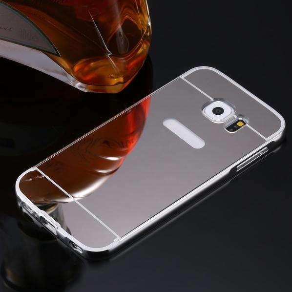 Carcasa Antishock Samsung Galaxy S7 Edge Protector Espejo Negra