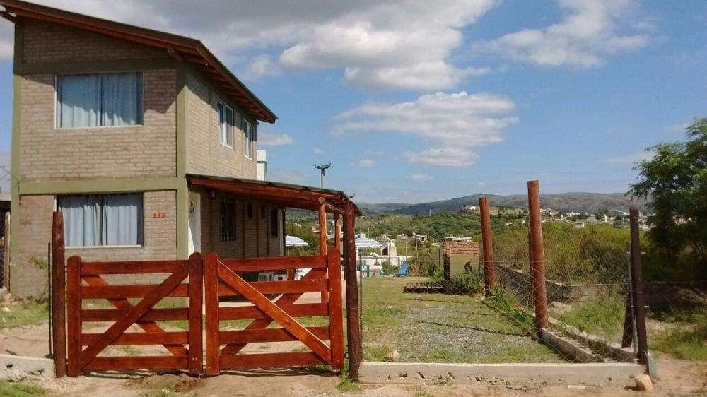 gw36 - Cabaña para 2 a 9 personas con pileta y cochera en Tanti