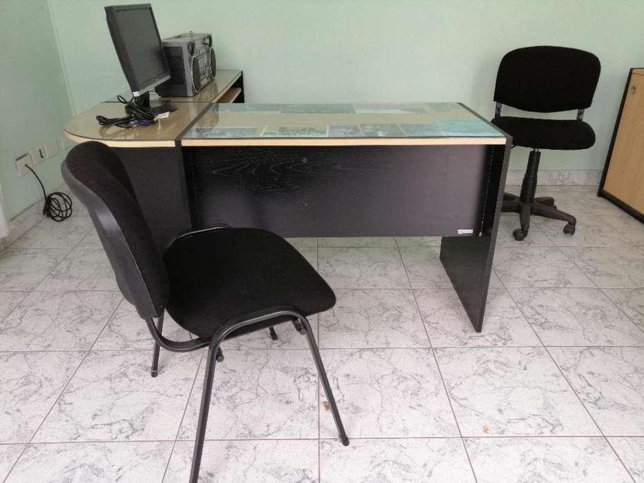 Vendo juego mobiliario para oficina