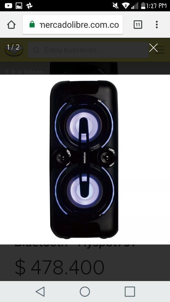 Barra de Sonido Nueva Bluetooth