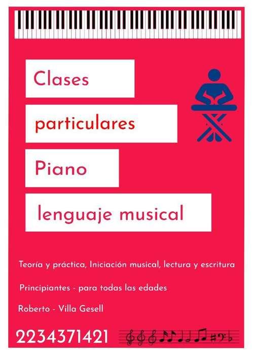 Clases Particulares Piano Y Música