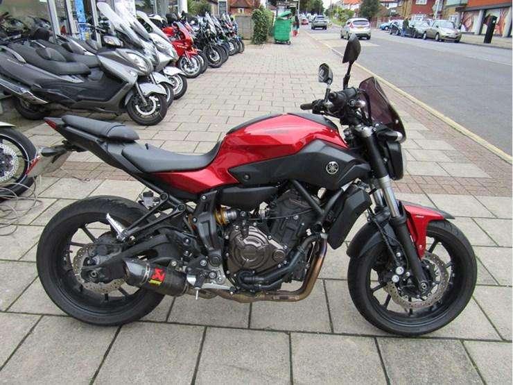 Vendo Moto <strong>yamaha</strong> Mt07