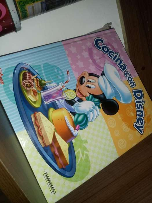 Libro de Cocina con Disney