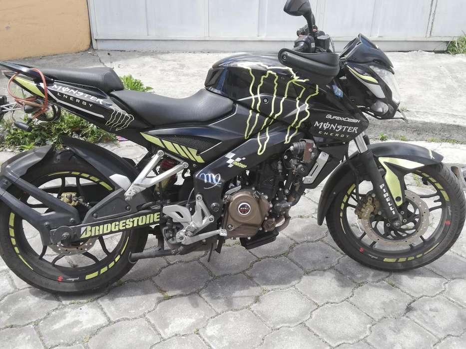 Vendo Moto como <strong>nueva</strong> contacto 0999680738