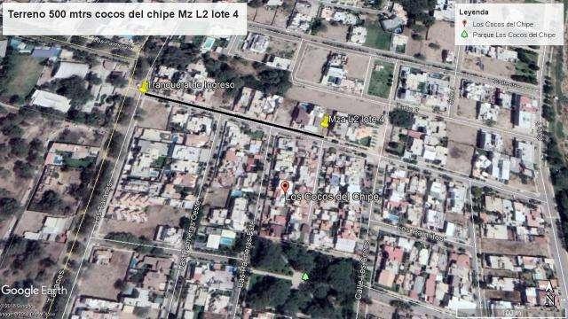 TERRENO EN VENTA LOS COCOS DEL CHIPE PIURA