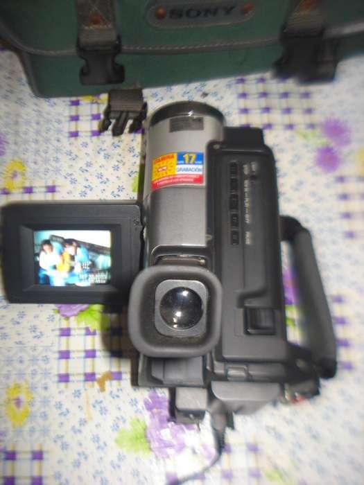 Filmadora Sony Ccd Trv58 Completa Funcionando C/bolso Origin