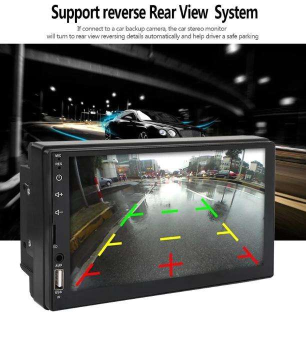 RADIO PARA CARRO PANTALLA MIRROR LINK TACTIL USB BLUETOOTH PANTALLA CAPACITIVA