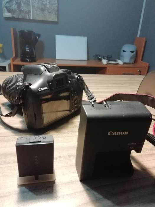 Canon T6 Lente 18-55 Batería