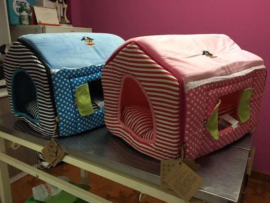 casas cama de perro y gato