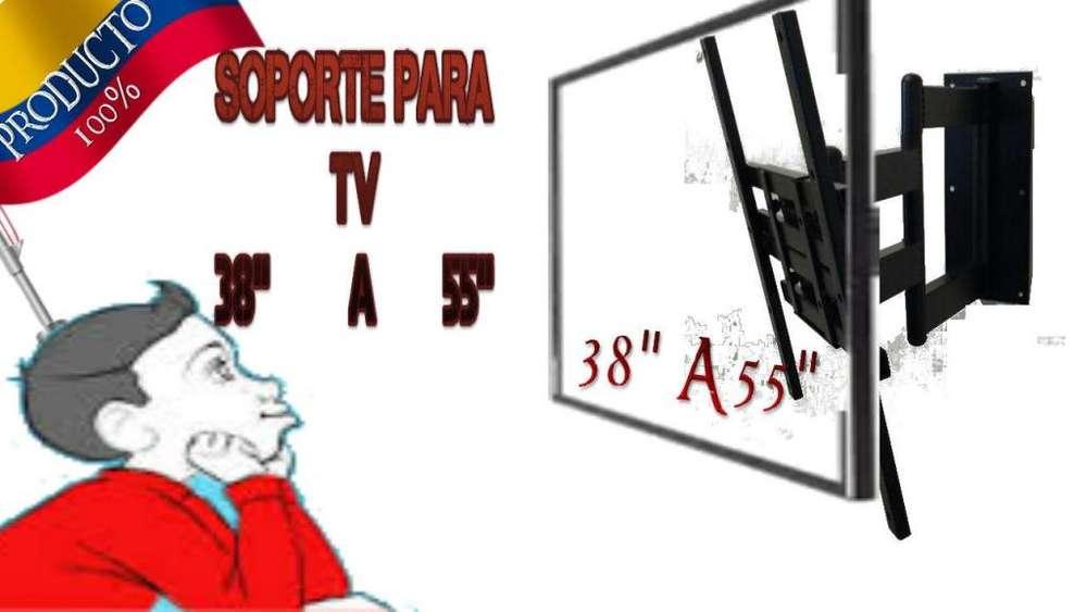 SOPORTE TV TELEVISOR <strong>movil</strong> TRES GIROS DOS BRAZOS INSTALACIÓN VER DESCRIPCIÓN PRODUCTO NACIONAL NO CHINO GRNTÍA ILMTDA