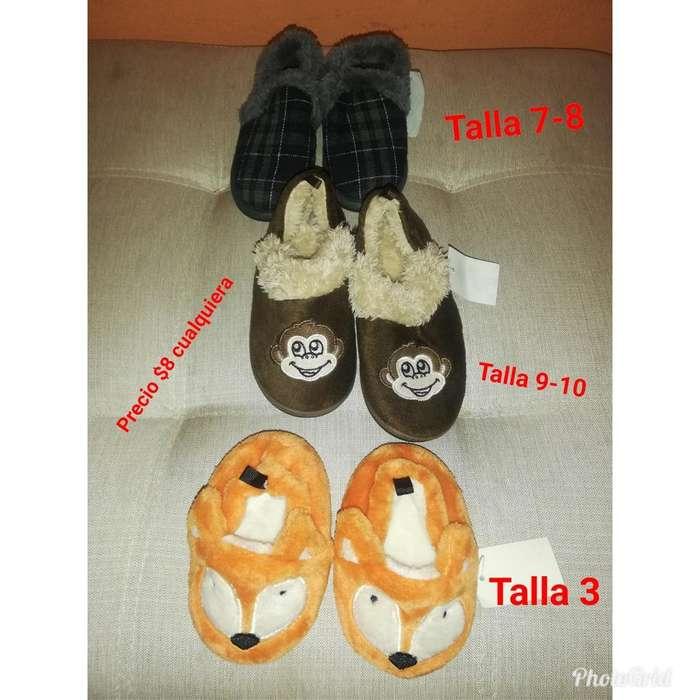Zapatos Niños, Pantuflas