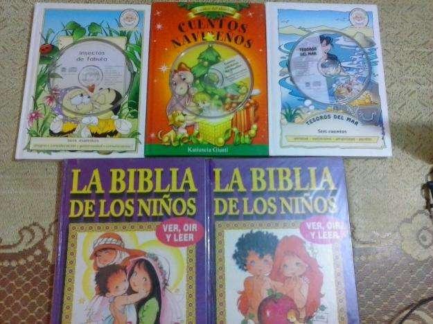 Vendo cuentos, fábulas para niños.