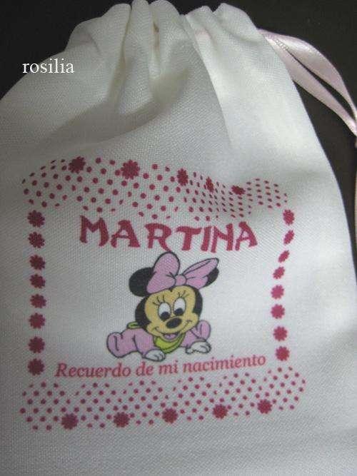 Bolsas para Souvenirs Cumpleaños