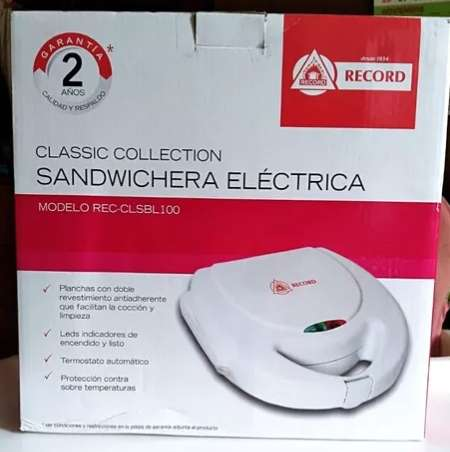 <strong>sandwichera</strong> RECORD BLANCO