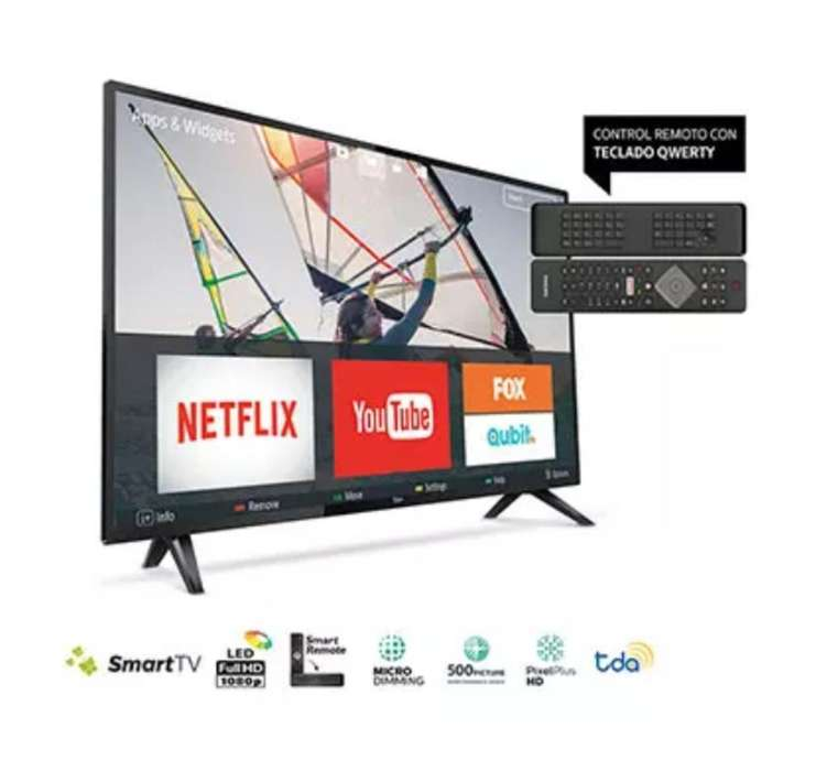 Smart Tv Led 43 Fhd Philips