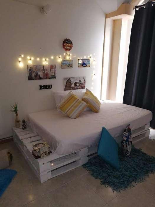Se fabrica camas en palets