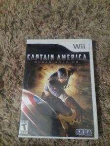 Capitan America super soldado marvel juego de nintendo wii disco original